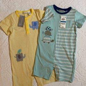 First Impressions boys set of 2 sunsuits outfit